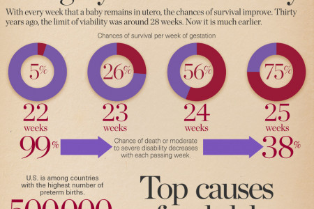The statistical challenges of saving an extraordinary preemie Infographic