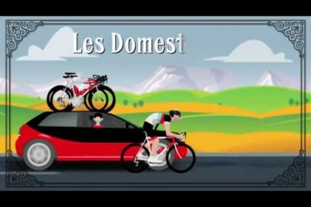 The Tour De France Explained in Animation Infographic