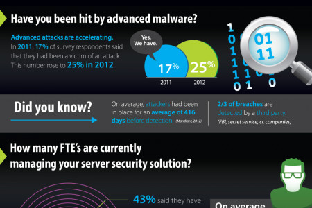 The Truth About Server Security Infographic