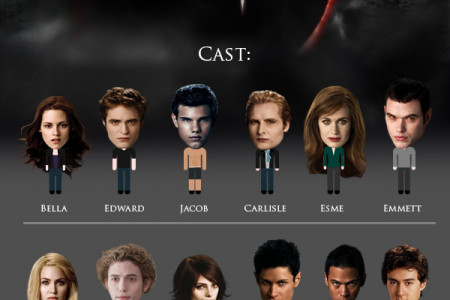 The Twilight Saga Infographic
