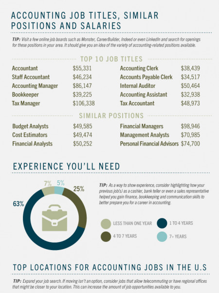 The Ultimate Career Guide for those Considering a Career in Accounting  Infographic