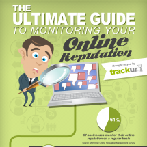 The Ultimate Guide To Monitoring Your Online Reputation Infographic