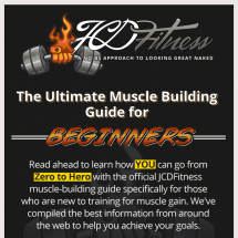 The Ultimate Muscle Building Guide for Beginners Infographic