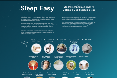 The Ultimate Sleep Guide Infographic