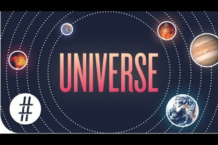 The Universe In Numbers Infographic