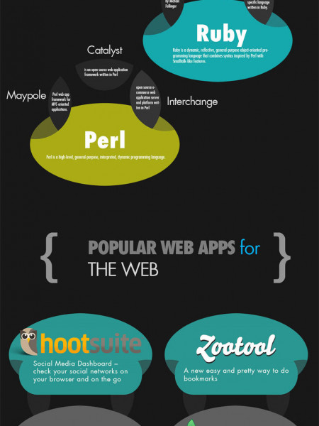 The Web Development Process Infographic