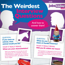 The Weirdest Interview Questions Infographic
