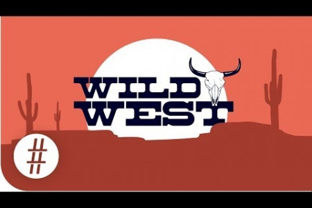 The Wild West In Numbers Infographic