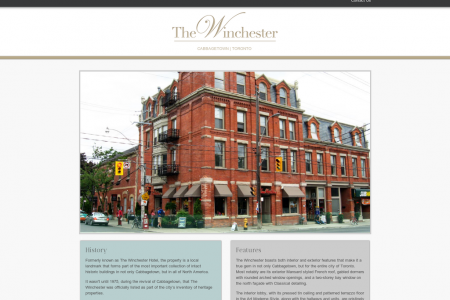 The Winchester - Apartment Suites in Downtown Toronto Infographic