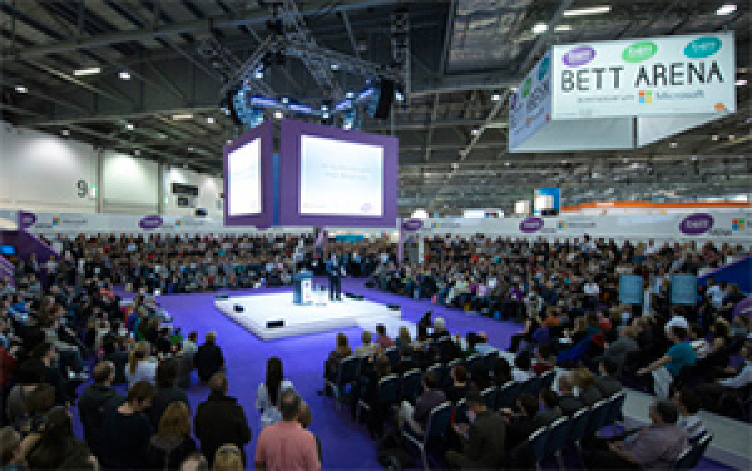 THE WINNERS TAKE A STAND AGAIN: GENEE @BETT SHOW 2014 Infographic