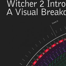 The Witcher 2 Intro Visual Data Infographic