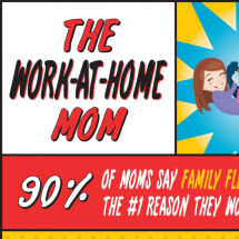 The Work-at-Home Mom Infographic