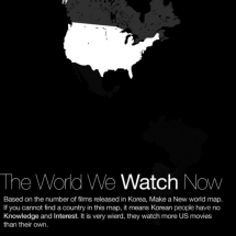 THE WORLD WE(KOREANS) WATCH NOW Infographic