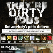 They're Dirty Jobs Infographic