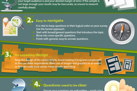 Tips on How to Create Good Online Survey Infographic