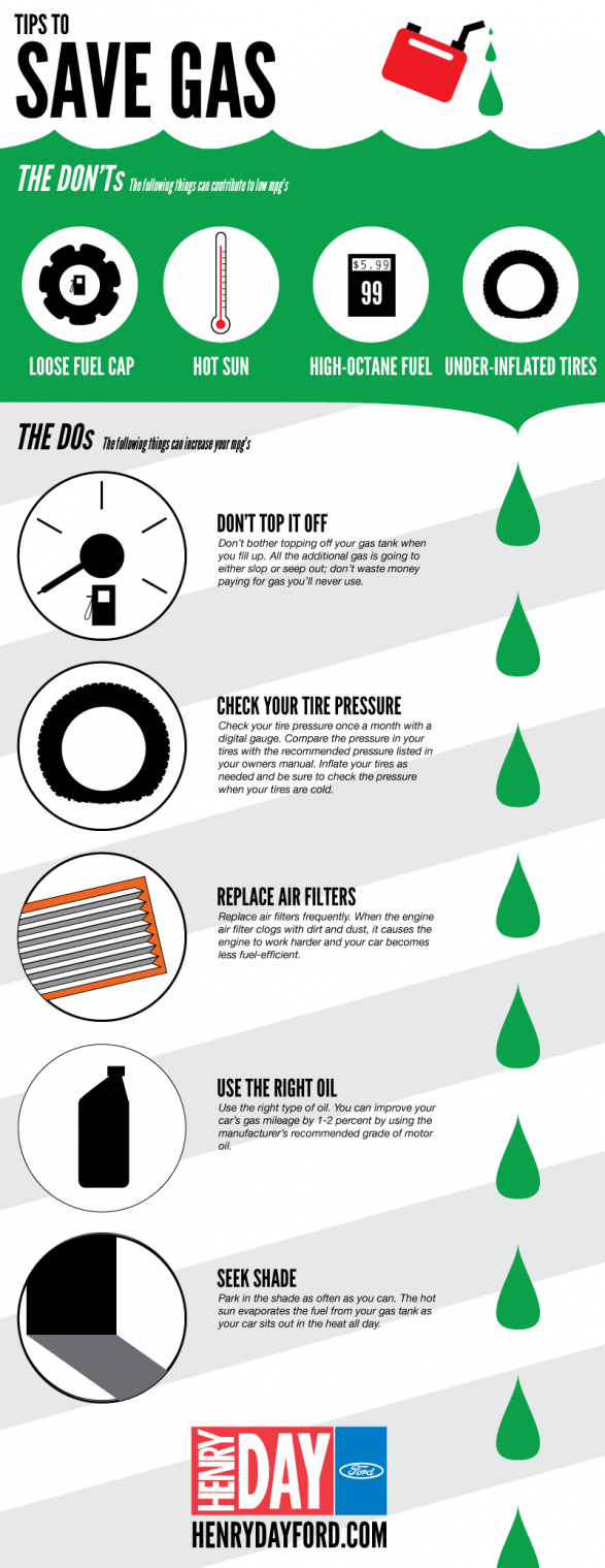 Tips to Save Gas