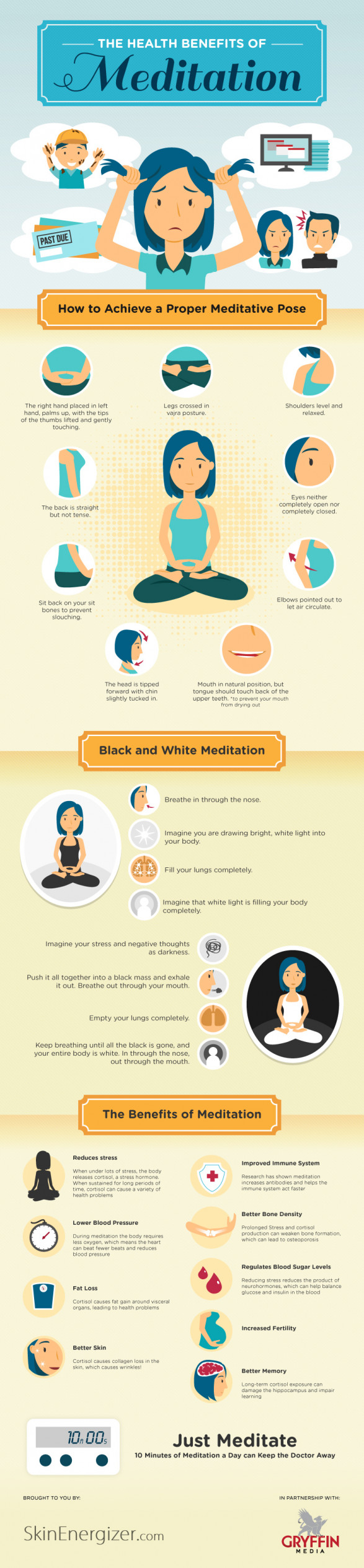 Tired? Stressed? Just Meditate!