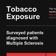 Tobacco Exposure Infographic