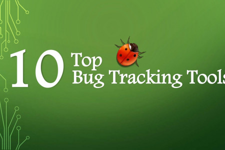 Top 10 Bug Tracking Tools Infographic