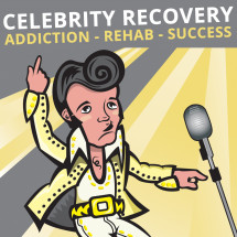 Top 10 Celebrity Addicts Infographic