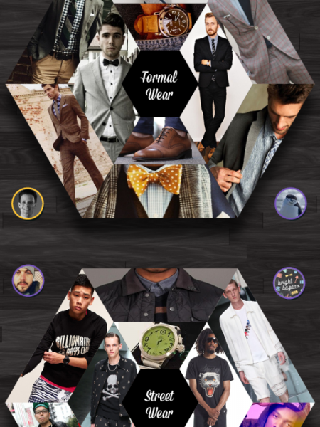 Top 10 Male Fashion Pinners Infographic