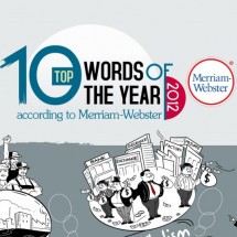 Top 10 Word of the Year 2012 Infographic