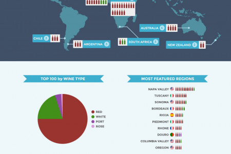 Top 100 Wines of 2013 Infographic