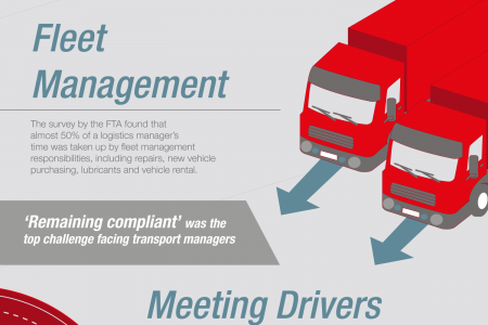 Top 5 problems every logistics manager faces Infographic