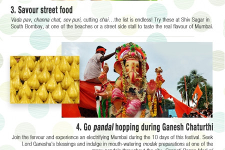 Top 7 Experiences In Mumbai  Infographic