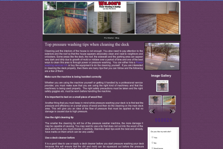 Top pressure washing tips when cleaning the deck Infographic