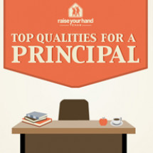 Top Qualities for a Principal Leader Infographic