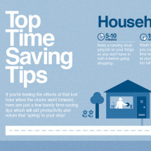 Top Time Saving Tips Infographic