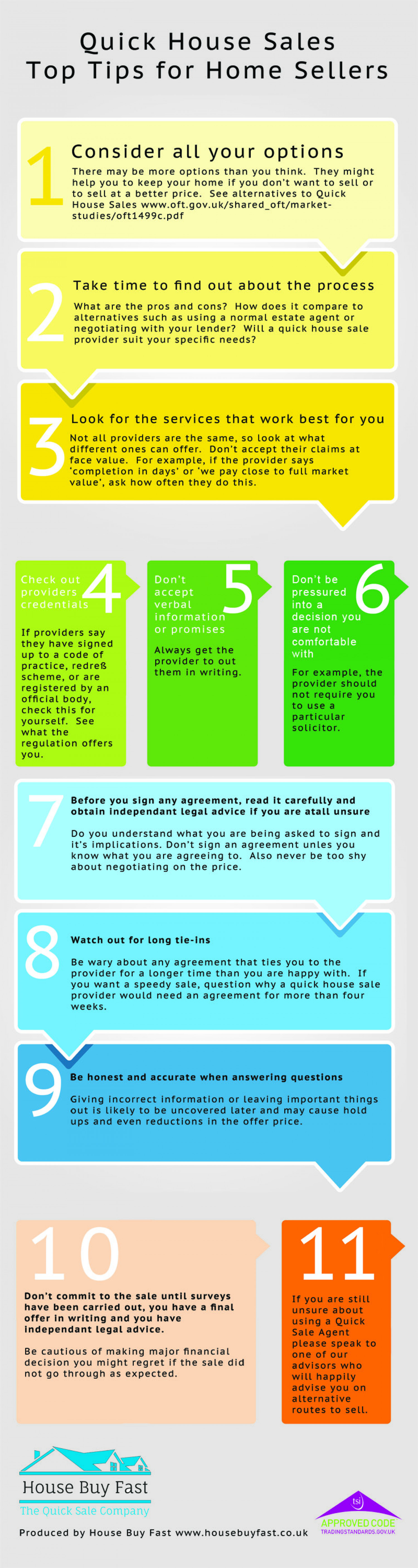 Top Tips For Home Sellers [Infographic] Infographic