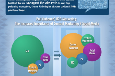 Top Trends in B2B Marketing Infographic