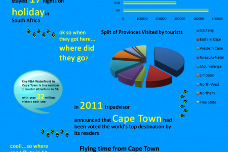 Tourism in South Africa 2011 Infographic