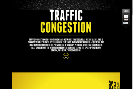 Traffic Congestion  Infographic