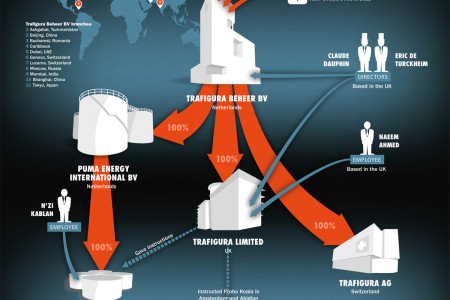 Trafigura's corporate structure Infographic