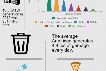 Trash Removal in America  Infographic