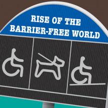 Rise of the Barrier Free World Infographic