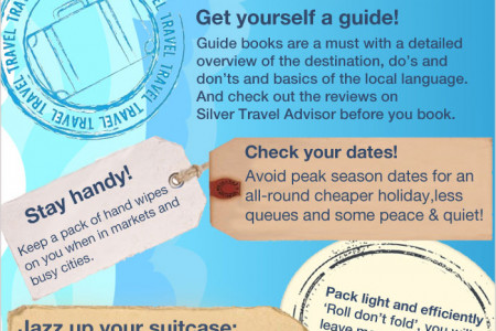 Travel Tips for Mature Travellers Infographic