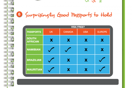 Travelstart Visa Survey 2012 Infographic