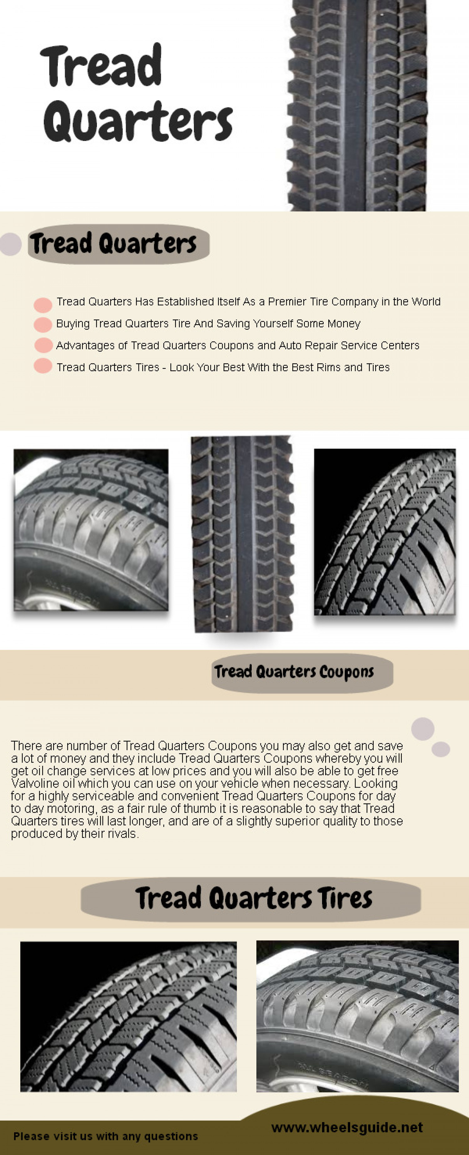 Tread Quarters Infographic