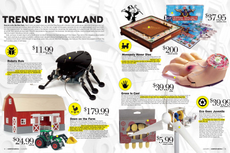 Trends in Toyland Infographic