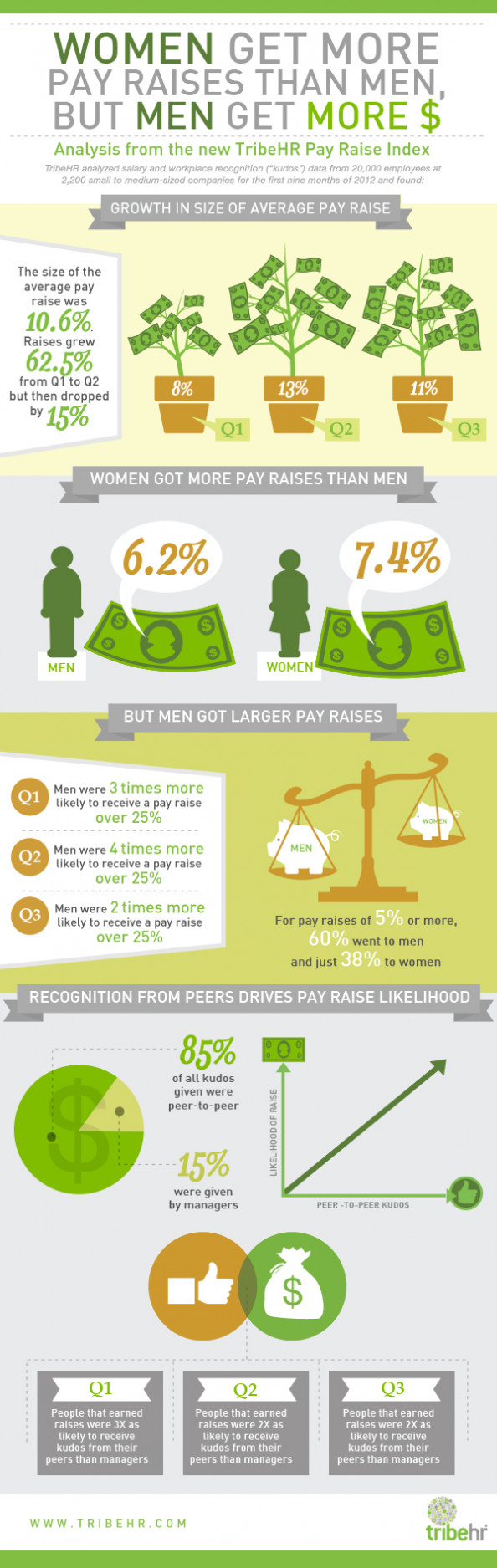 TribeHR Pay Raise Infographic