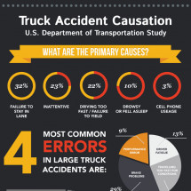 Truck Accident Causation Infographic