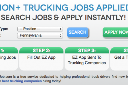 Trucking Jobs Truck Driving Jobs Search Infographic