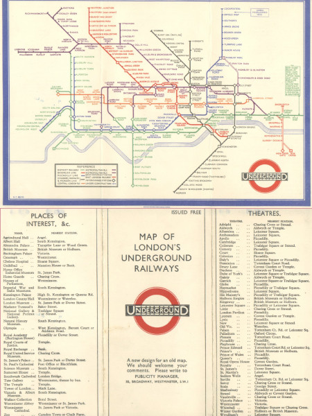 Tube Map of London Infographic