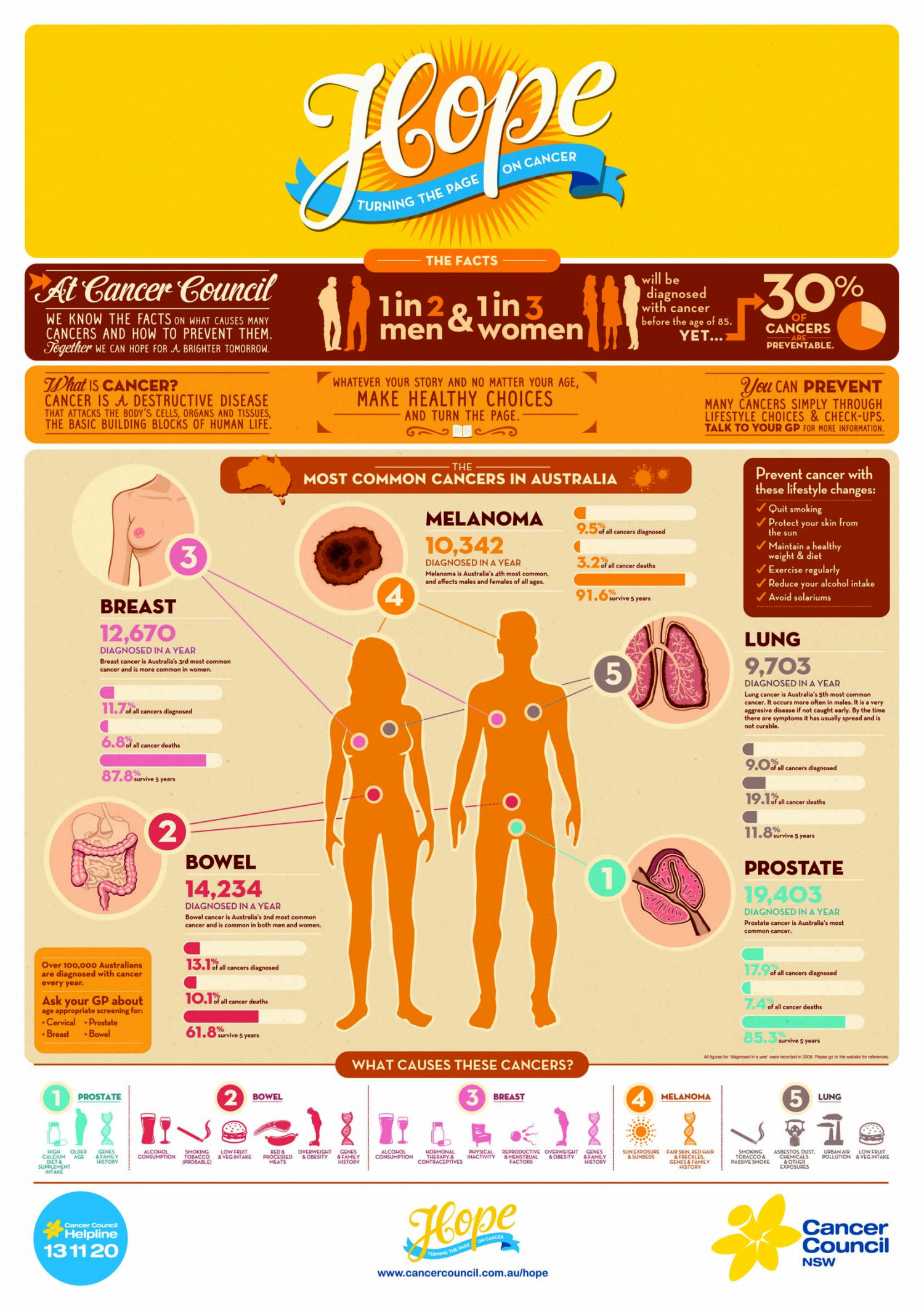 Turning the Page on Cancer Infographic