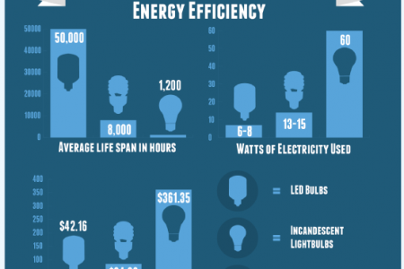 Turning the Spotlight on LED Lighting Infographic