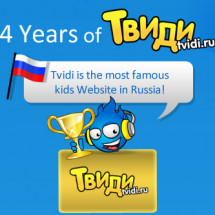 Tvidi 4 Years Infographic
